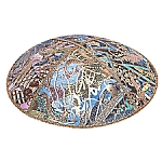 FL-102 Fancy Leather kippah