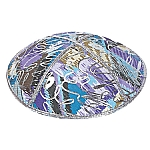 FL-105 Fancy Leather kippah