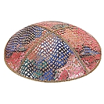 FL-107 Fancy Leather kippah