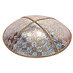 FL-110 Fancy Leather kippah