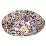FL-112 Fancy Leather kippah
