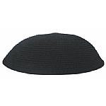Black Knit Kippot